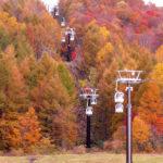 「裏磐梯紅葉ロープウェイ」が秋の運行を開始